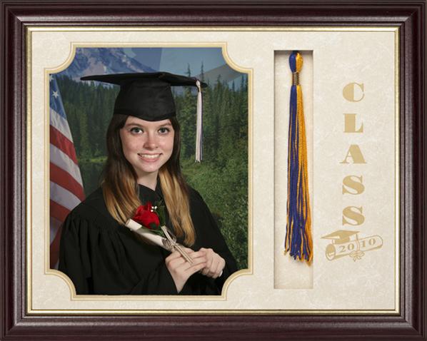 Graduate Walnut Frame  Landscape